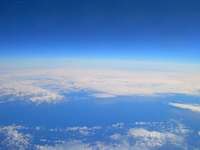 Earth seen from Pacific Ocean sky Stock photo [1068186] Pacific