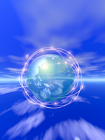 Earth of net Stock photo [35747] The