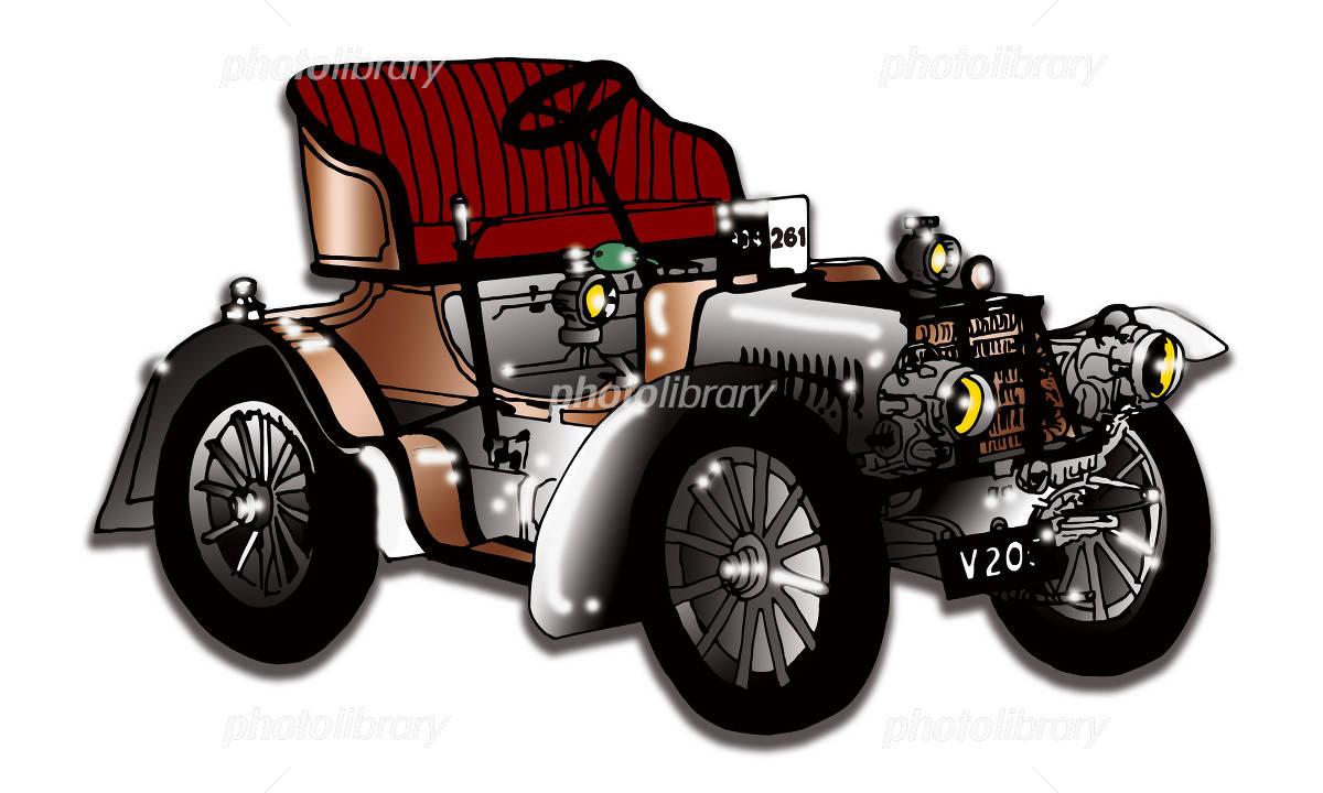 クラッシックカー イラスト素材 1168697 フォトライブラリー