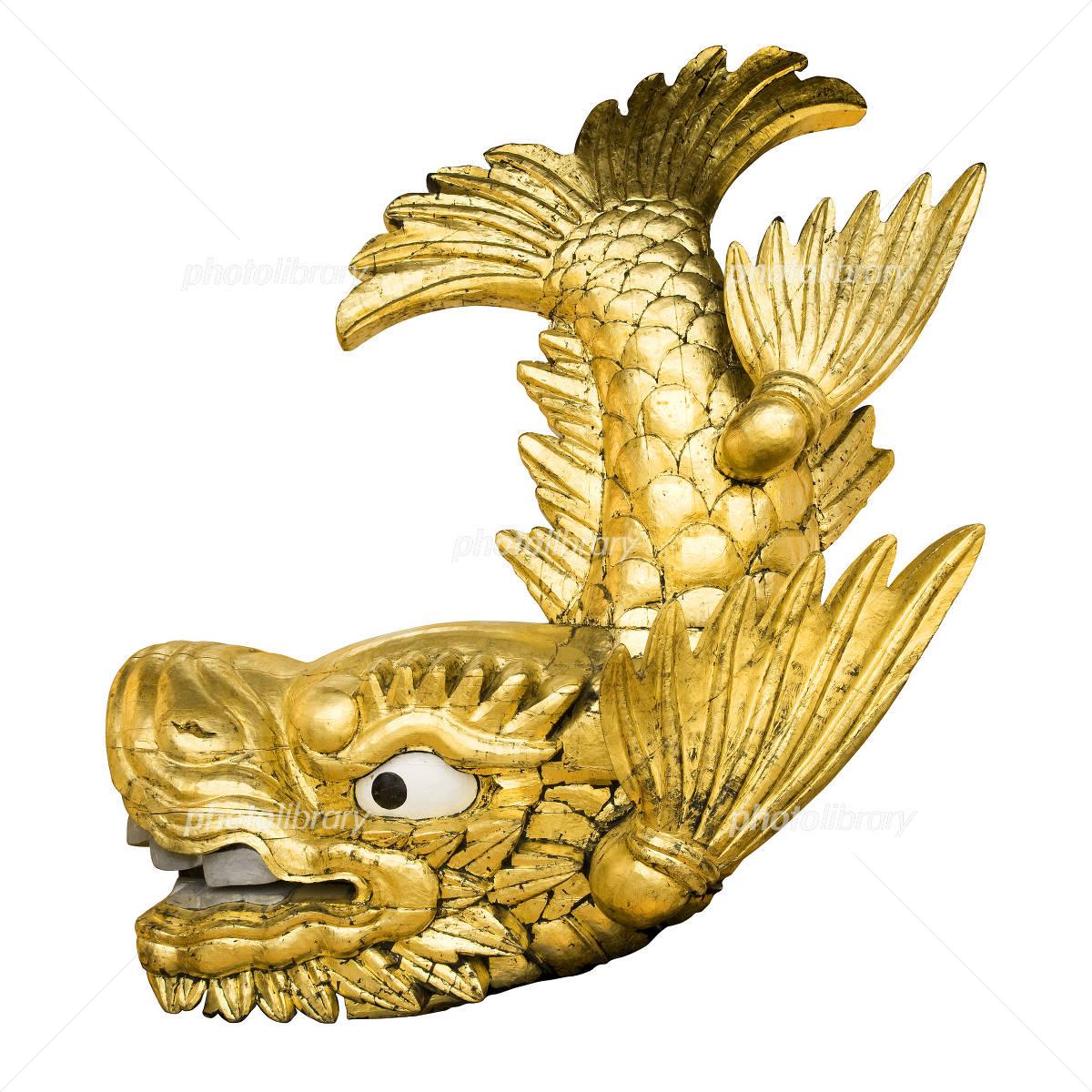 金のシャチホコ 写真素材 [ 1169...
