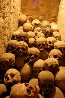(Peru) of San Francisco church catacombs Stock photo [1162482] Catacombs