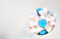 Heart of marshmallows Stock photo [1169017] White