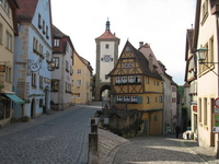 Plain line of Germany Rothenburg Stock photo [1174020] Germany