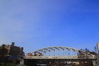 Morioka luck Bridge and blue sky Stock photo [1174867] Bridge