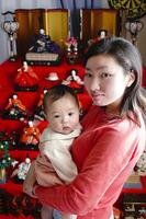 Dolls and parent-child seven Dankazari Stock photo [1177904] Baby