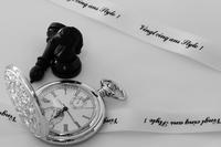 Monotone of pocket watch Stock photo [1263984] Pocket