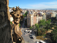 Sagrada skyline from Familia Stock photo [1264025] Europe