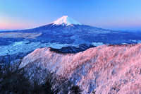 Mitsuboshi Pass snow sunrise Stock photo [1264135] Morning