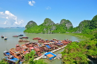 World Heritage Vietnam Halong Bay of Tien Kung Cave Stock photo [1268857] Vietnam