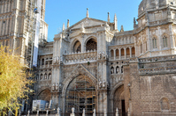 Historic City of Toledo Cathedral front Stock photo [1268941] World