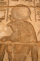 (Egypt) Ramses III Horus of funerary temple Stock photo [1270436] Horus