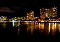 Waikiki night view Stock photo [1272570] Waikiki