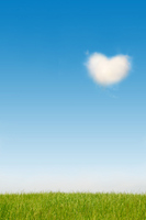 Heart of clouds Stock photo [1274705] Hart