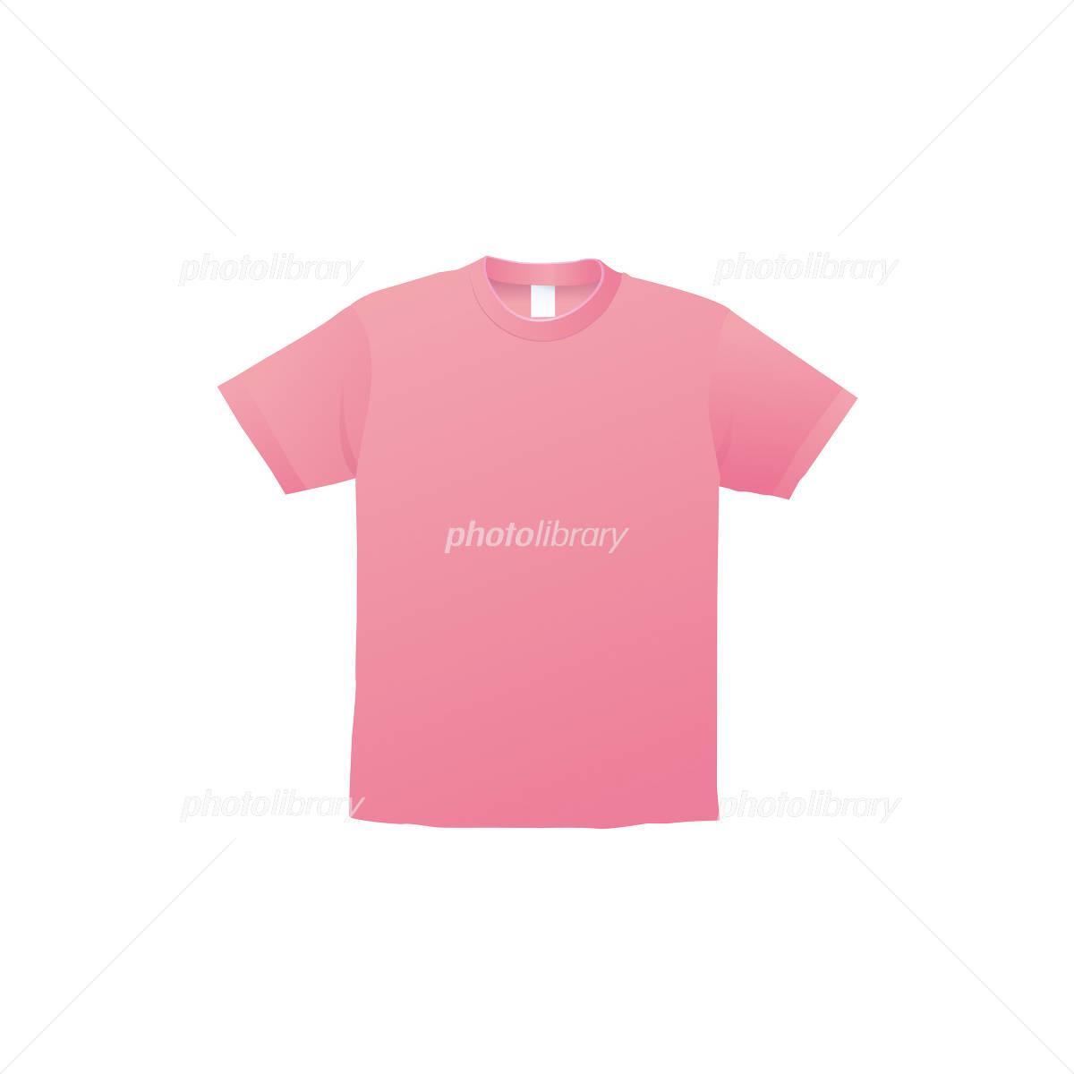 ピンクのtシャツのイラスト イラスト素材 1359092 フォトライブ