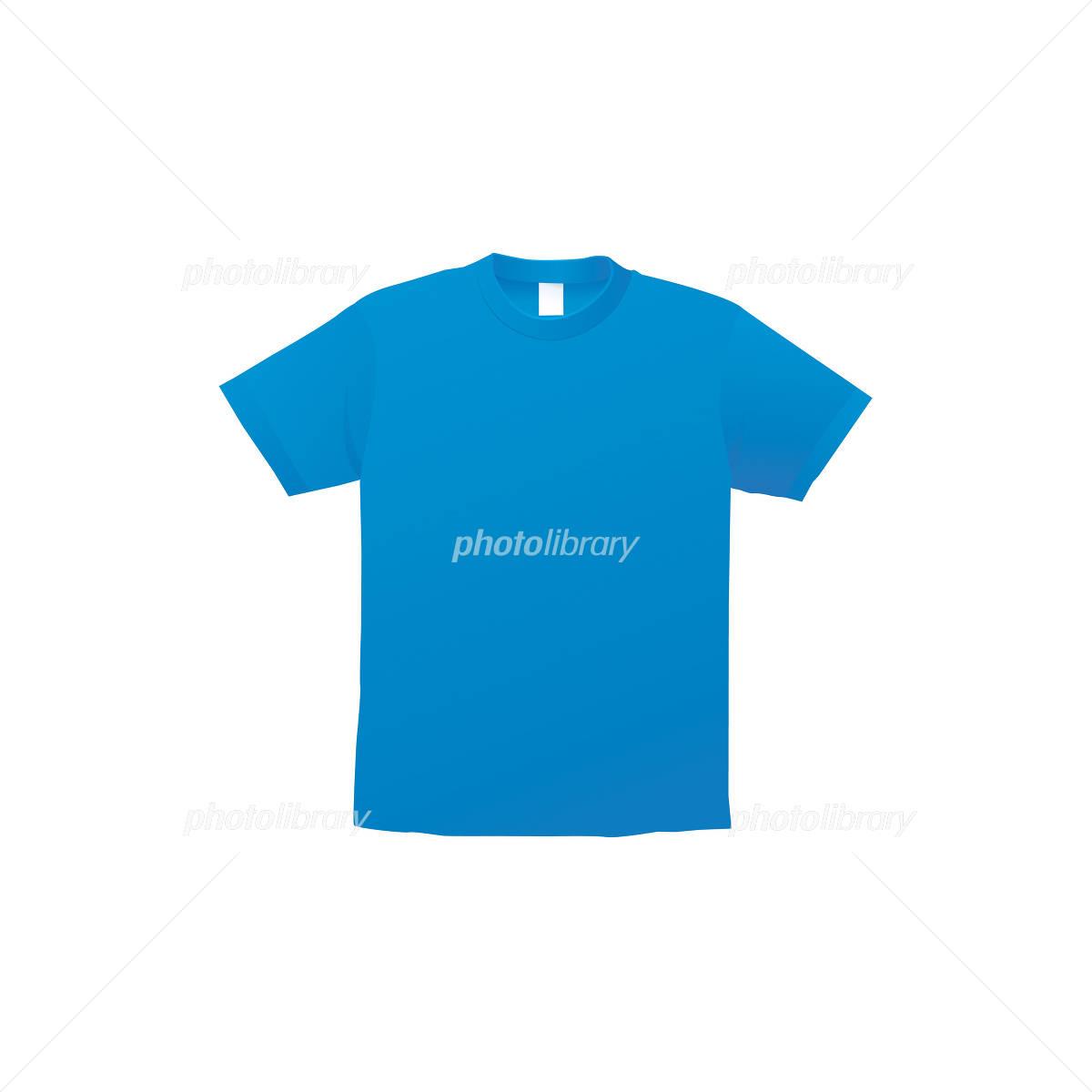 青いtシャツのイラスト イラスト素材 1359101 フォトライブラリー