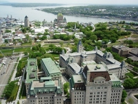 Quebec City Historical district you want from the observatory Stock photo [1353106] Quebec