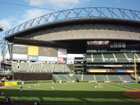 Safeco Field in Seattle Mariners home Stock photo [1355539] America