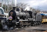 Plum alley steam locomotive Stock photo [1356255] Plum