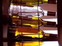 Wine bottle display Stock photo [1362249] Wine