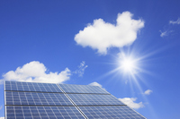 Solar panels Stock photo [1445592] Eco