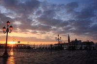 Venice of dawn Stock photo [1446798] Italy
