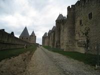 Carcassonne Citadel Stock photo [1448635] Carcassonne