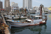 Akashi Port of trawl fishing boat Stock photo [1451409] Hyogo