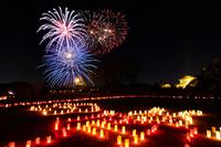 Kairakuen fireworks of Stock photo [1454181] Ibaraki