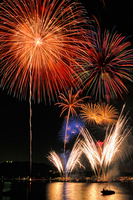 Zushi coast fireworks Stock photo [1454746] Hana-hi