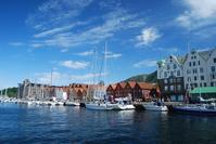 Bryggen district of Bergen Stock photo [1455612] Bergen