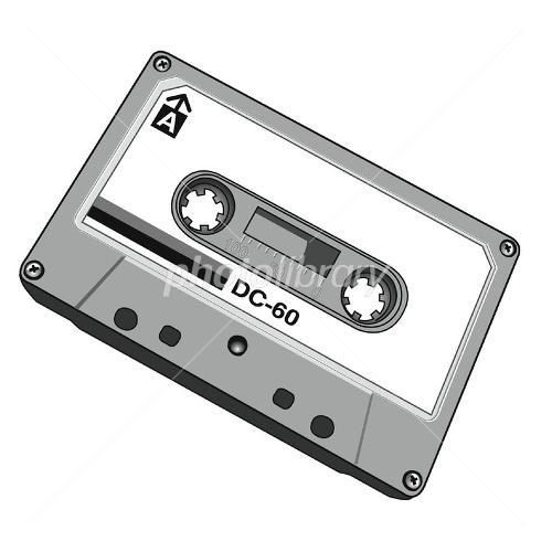 カセットテープ イラスト素材 1544801 フォトライブラリー