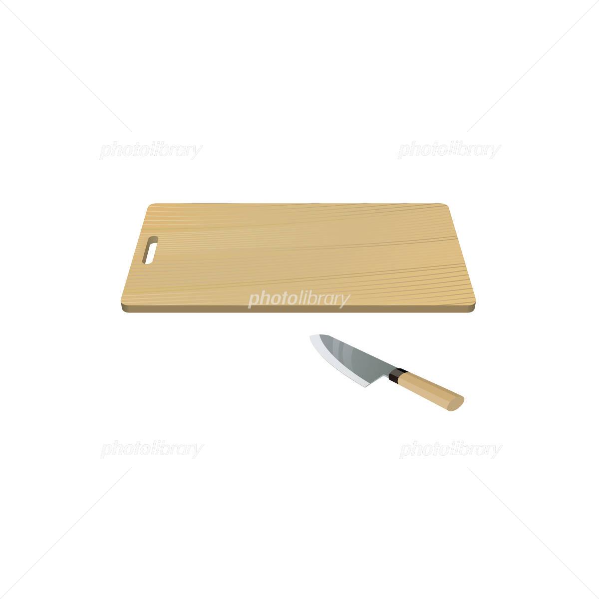 まな板と包丁のイラスト イラスト素材 1556090 フォトライブラリー