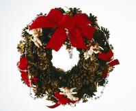 Christmas wreath Stock photo [1544448] Christmas