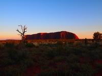 Ayers Rock Sunrise Stock photo [1545075] Australia