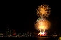 Kanagawa newspaper fireworks Stock photo [1545263] Fireworks