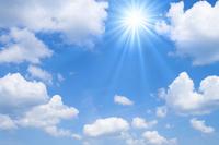 Blue sky and sun Stock photo [1546971] Blue
