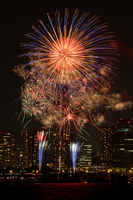 Kanagawa newspaper fireworks Stock photo [1547651] Fireworks