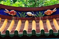 孔子廟の屋根飾り