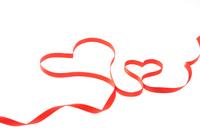 Heart of ribbon Stock photo [1551011] Hart