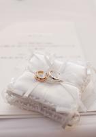 Ring pillow Stock photo [1551742] Wedding