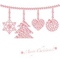 Christmas ornament background [1554264] Christmas