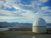 Mount John Observatory Stock photo [1554764] Mount