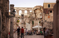 Croatia Split of historic sites Stock photo [1555021] Split