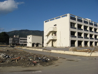 Tohoku region Pacific Ocean earthquake Rikuzentakata damage Stock photo [1651214] Great