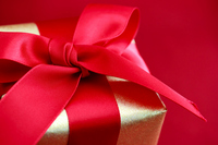 Gift box Red Stock photo [1654500] Gift