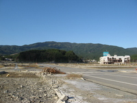 Tohoku region Pacific Ocean earthquake Rikuzentakata damage Stock photo [1655572] Great