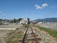 Line had bent in the tsunami Stock photo [1659653] Tohoku-Pacific