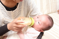 Baby to drink milk Stock photo [1660122] Person