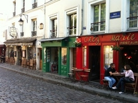 Cityscape of near Montmartre Stock photo [1660433] France