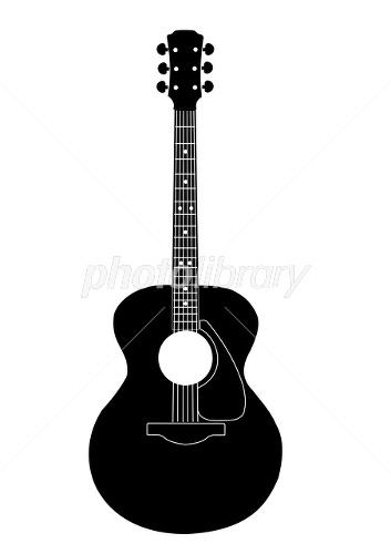 アコースティックギターイラスト イラスト素材 1744835 フォト